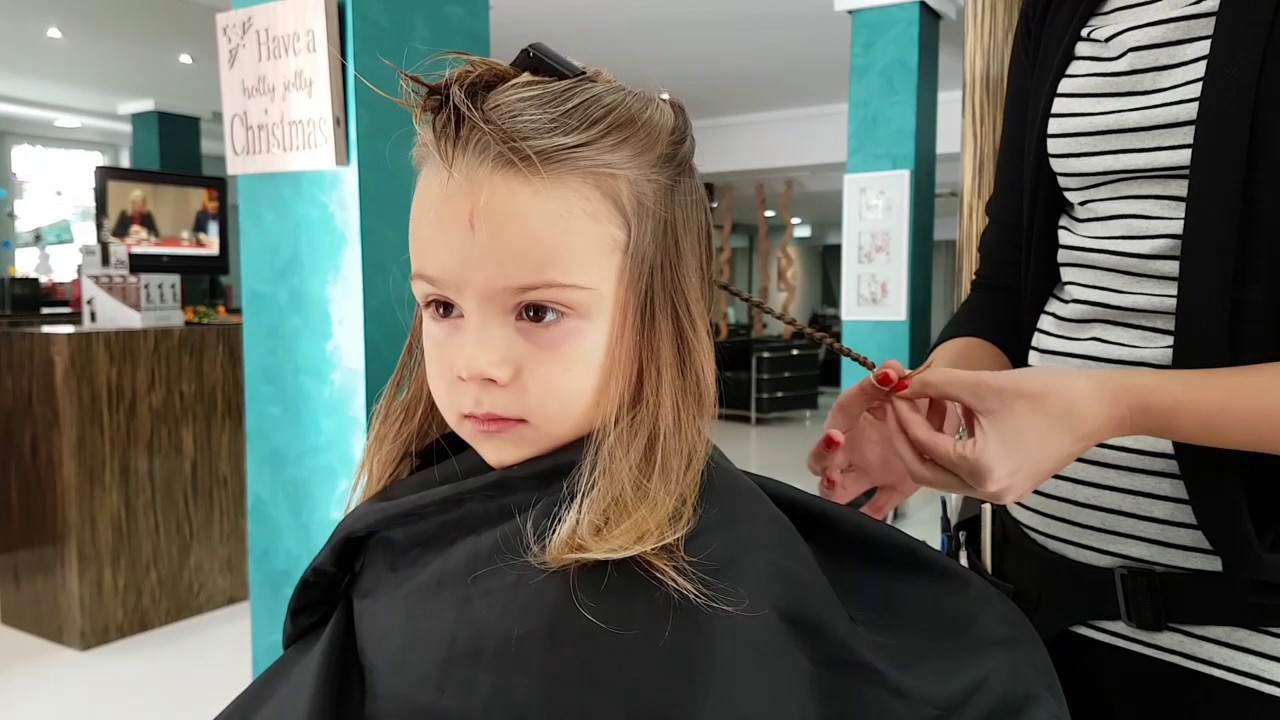 Indigo Gets A Jedi Haircut Hairdressers Love This Video Youtube