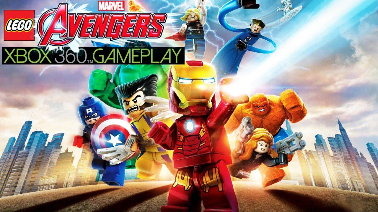 Lego Marvel S Avengers Gameplay Xbox 360 Hd