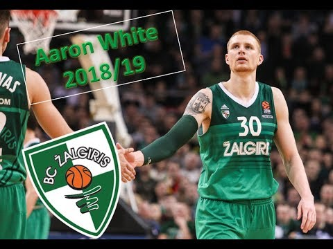 Aaron White ● Žalgiris Kaunas ● 2018/19 Best Plays & Highlights