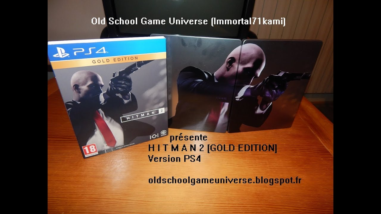 Unboxing Hitman 2 Gold Edition Xbox One Ps4 Youtube