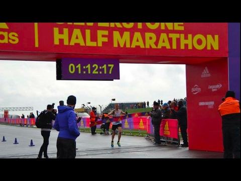 David Hudson Interview - Silverstone Half Marathon Winner 2017