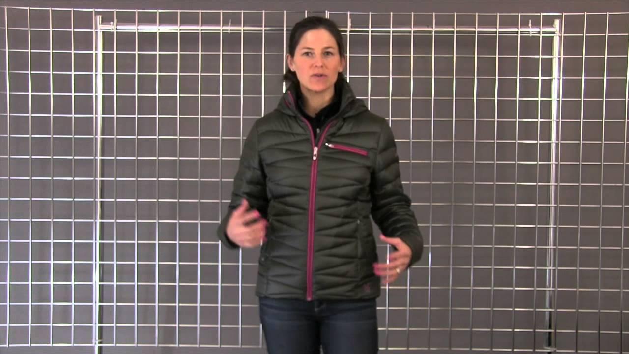 dc408473e3 Spyder Women s Timeless Hoody GT Down Jacket 2014-2015 - YouTube