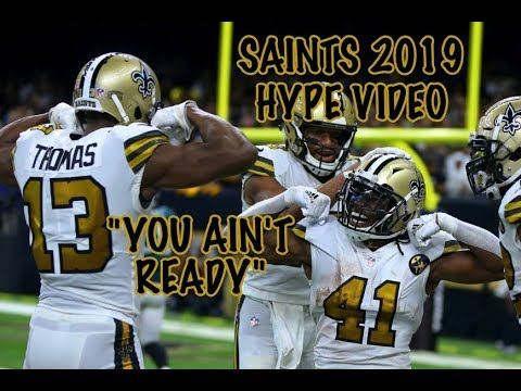 40966d88 2019 New Orleans Saints Hype Video | You Ain't Ready