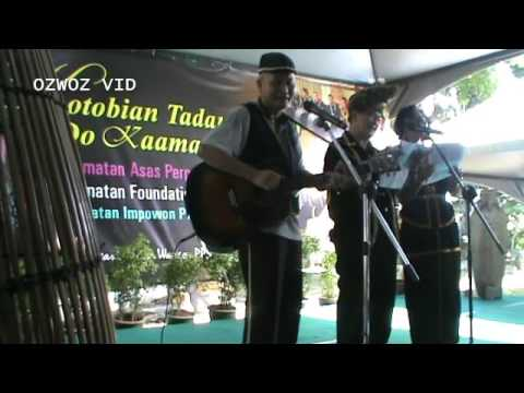 SABAH CREDIT KAAMATAN 2017 = TWO KADAZAN SONGS FOR THE SENIOR CITIZENS on 26 May