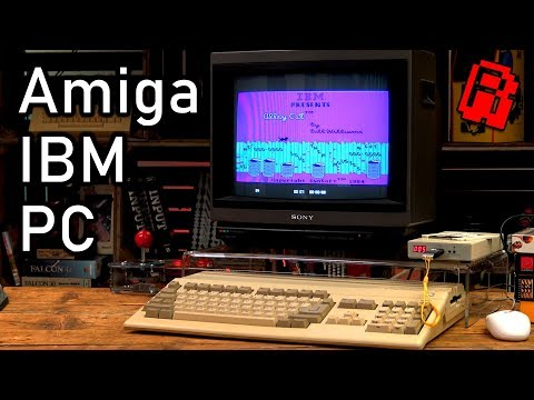 My Amiga 500 is an IBM PC | Tech Nibble