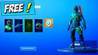 How To Get REFLEX SKIN For FREE! (WORKING) Fortnite Nvidia Geforce Counterattack Bundle FREE V BUCKS