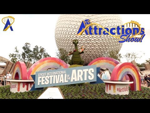 The Attractions Show! - Festival of the Arts; Disney vacations; latest news