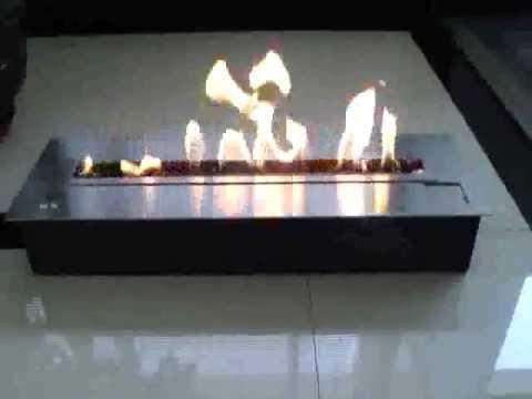quemador etanol largo a control remoto quemadores bioetanol electronico afire