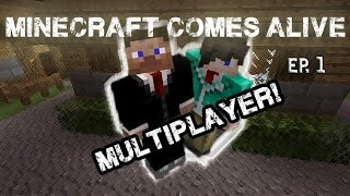 (#1) Minecraft Comes Alive! (Multiplayer) streaming