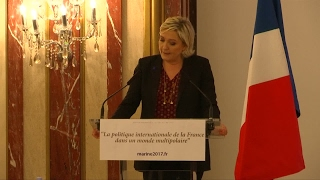 France: Far-right leader Marine Le Pen blames US