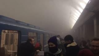 КАДРЫ ВЗРЫВА В МЕТРО Теракт! Санкт Петербург 03 04 2017 Взрыв в петербургском метро