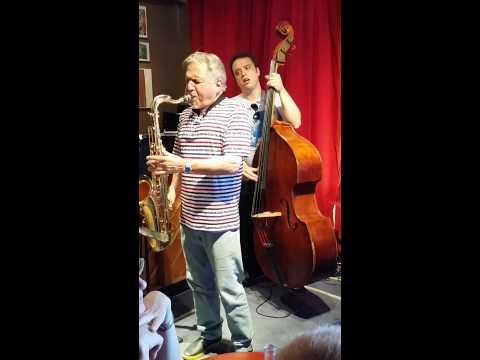 Jerry Bergonzi Quartet live@Jazzcup.cph.jazzfest.2014