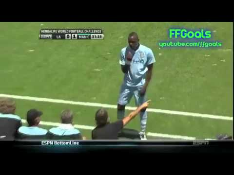 LA Galaxy vs Manchester City (1-1)  All Goals & Highlights
