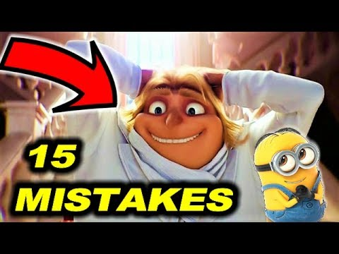 😂 15 MISTAKES in DESPICABLE ME 3 + BONUS