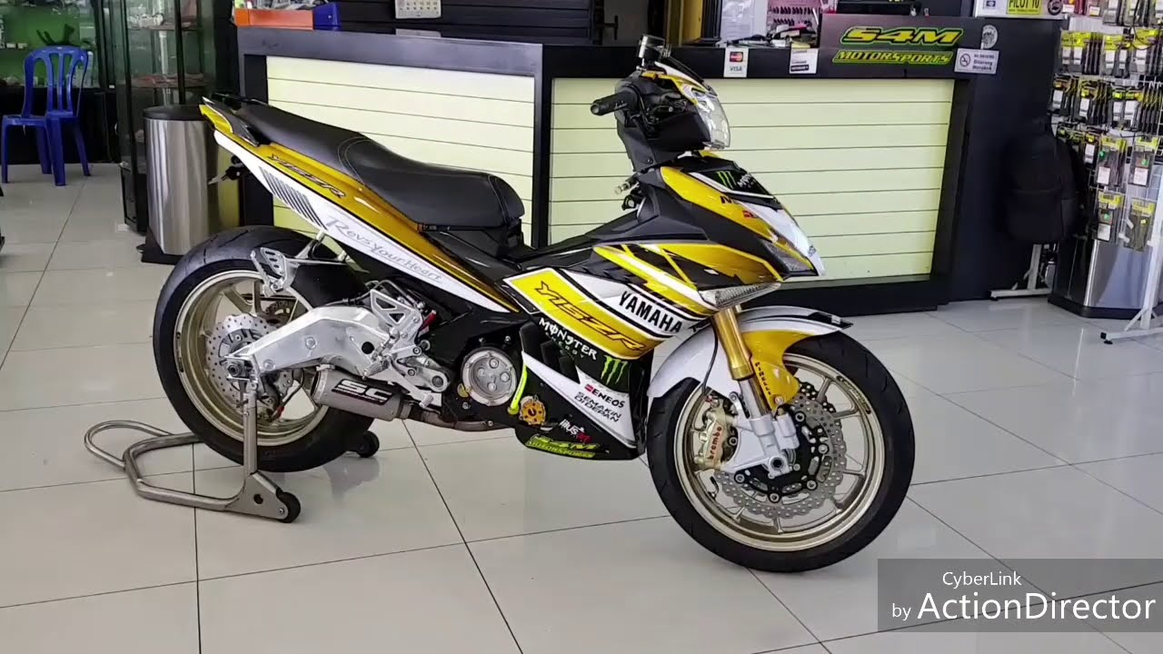 Yamaha Y15 Modified By S4m Motorsport  Rie Rie 02:52 HD