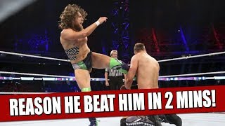 It was the Miz and Daniel Bryan's third encounter at the WWE Suepr ...