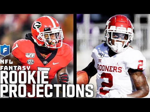 Rookie Fantasy Projections: Top WR's, RB's & Fits