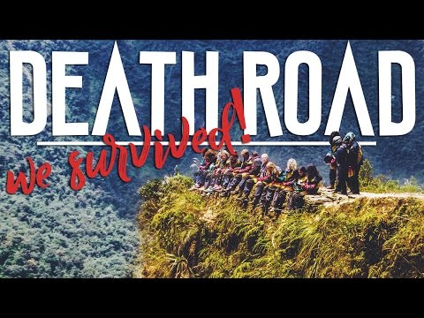 MOST DANGEROUS ROAD IN THE WORLD // BOLIVIA