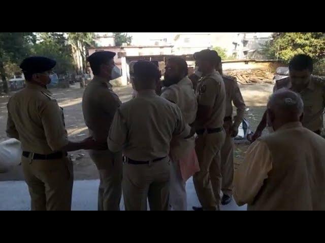 पांवटा साहिब में चार दिन से आमरण अनशन पर बैठे गोसेवक को पुलिस ने जबरन उठाया...