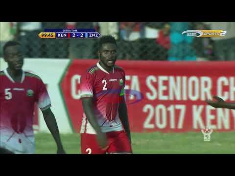 Azam TV - CECAFA2017: Bao la pili la Zanzibar (KENYA 2-2 ZANZIBAR)