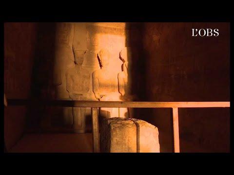 A Abou Simbel,