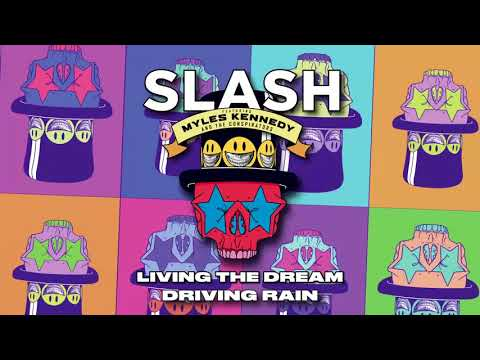 "Slash ft. Myles Kennedy & The Conspirators – ""Driving Rain"" Full Song Static Video"