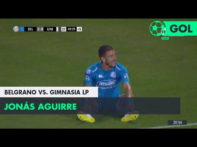 Jonás Aguirre (2-0) Belgrano vs Gimnasia LP | Fecha 11 - Superliga Argentina 2018/2019