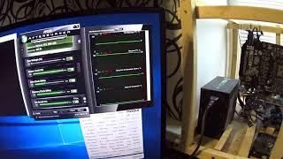 Тест в майнинге Gigabyte Extreme Gaming gtx1060 6gb 9Gbps