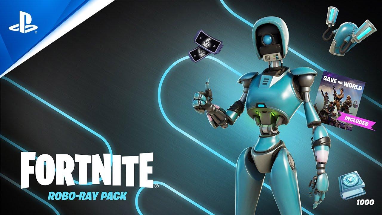 Fortnite − Robo-Ray | PS5, PS4