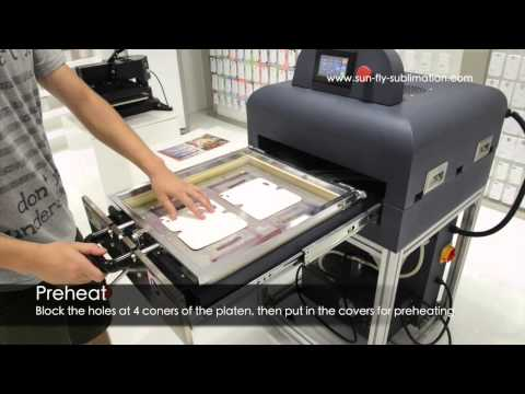 Leather Flip Cover Printing Solution(3D Film Sublimation)
