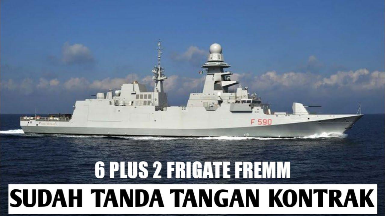 MAKIN GARANG!!! FRIGATE BARU UNTUK TNI-AL MERUPAKAN YANG TERCANGGIH DI DUNIA