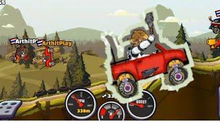 เกมรถแข่ง Hill Climb Racing : รถคันแรก ด่านป่า ตามคำขอของ #รีวิวอะไรก็ได้ screenshot 3