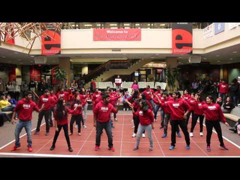 SIUE ISA Flash mob 2015 - Vikhyat, India Night 2015