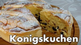 【お菓子作り】ケーニヒスクーヘン / Konigskuchen