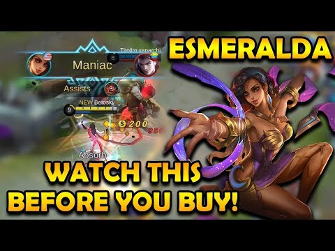 Watch This Before Buying Esmeralda! | Mobile Legends Bang Bang thumbnail