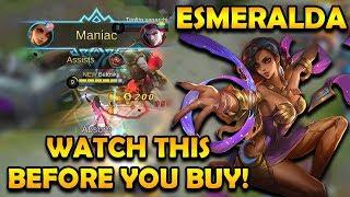 Watch This Before Buying Esmeralda!   Mobile Legends Bang Bang