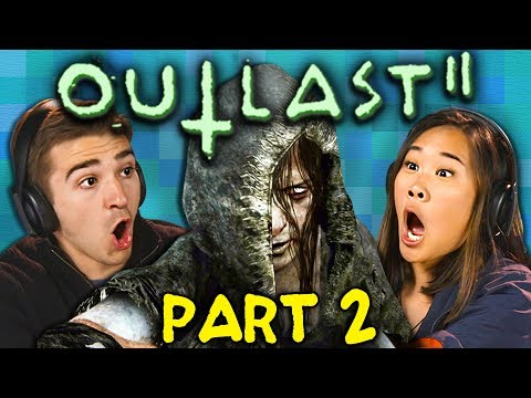 SHE KILLED HIM!!!   OUTLAST 2 - Part 2 (React: Gaming)