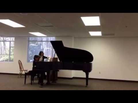 Annabelle Cao- Bach Concerto in F minor 1st movement, BMV 1056
