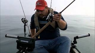 Kayak Fishing with Divers for Trout and Salmon