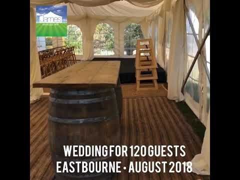 15th August 2018 - Wedding for 120 guests