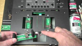 TTM57 Cleaning the faders (1of3) - Quick clean method