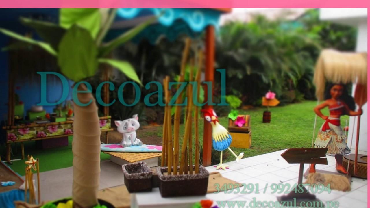Moana decoracion de fiestas infantiles fiesta de moana - Decoracion fiesta infantil ...