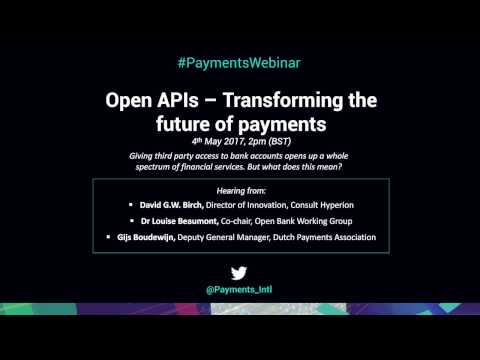 Open APIs - Transforming The Future Of Payments