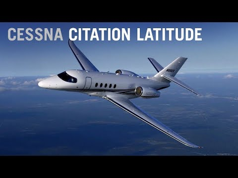 Flying the New Cessna Citation Latitude Business Jet – AINtv