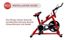 [ Installation Guide ] Pro Fitness Indoor Exercise Cycling Bike
