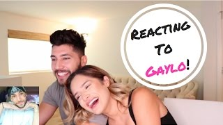 Reacting To My Boyfriends Gaylo Videos! | Chachi Gonzales