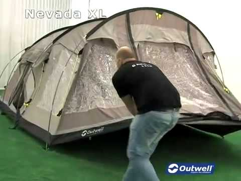 How to Pitch the Outwell Nevada XL & How to Pitch the Outwell Nevada XL - YouTube