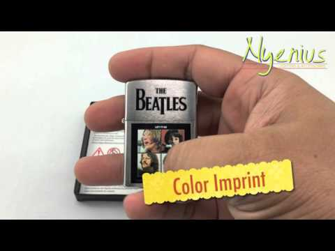 Unboxing Zippo Beatles Let It Be, Brushed Chrome 28254, Discontinued