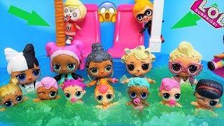 КУКЛЫ ЛОЛ СЮРПРИЗ МУЛЬТИКИ! ВСЕ КУКЛЫ ЛОЛ ПРОТИВ АНТИБАГ Мультики #lolsurprise #doll