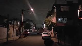 Momento exacto en que empieza el sismo de 8.1grados en CD de México